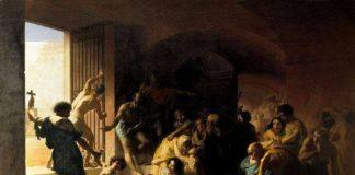 Editto di Serdica - Una scena di persecuzione contro i cristiani