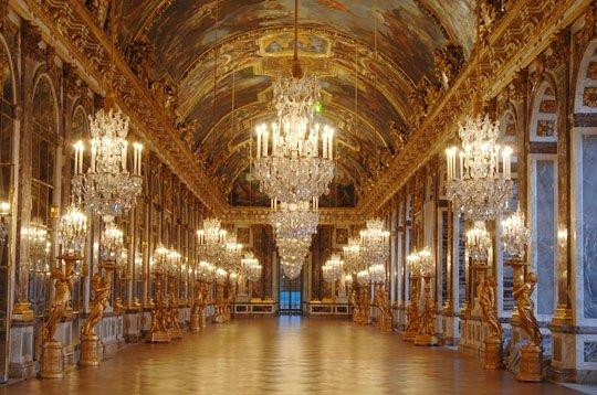 Galleria degli specchi, Reggia di Versailles.