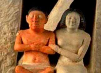 Il nano Seneb e la sua famiglia - gruppo scultoreo. Descrizione