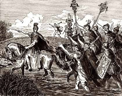 Cesare padrone di Roma