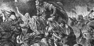 Attila nella Battaglia dei Campi Catalaunici