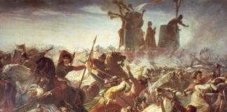 Amos Cassioli (1832-1891), La Battaglia di Legnano, presso la Galleria d'Arte Moderna di Palazzo Pitti, Firenze