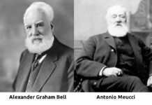 Alexander Graham Bell e Antonio Meucci