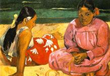 Donne di Tahiti di Paul Gauguin