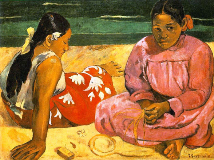 Donne di Tahiti di Paul Gauguin