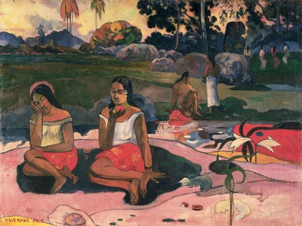 La fonte delle delizie Nave nave moe di Paul Gauguin