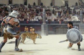 """""""Il Gladiatore"""" di Ridley Scott (2000)."""