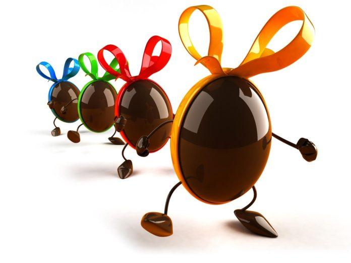 Pasqua e le uova di cioccolato