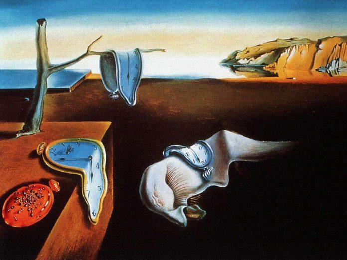 La persistenza della memoria (Orologi molli)