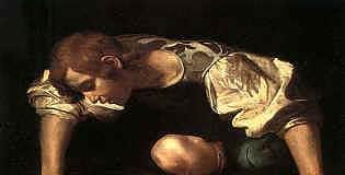 Caravaggio, Narciso, 1546-1548, Roma, Galleria Nazionale di Arte Antica.