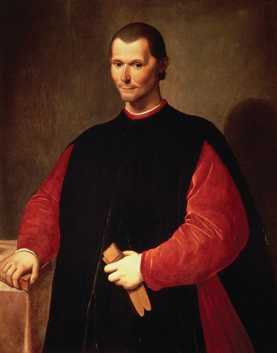Machiavelli e derivazioni: machiavellico