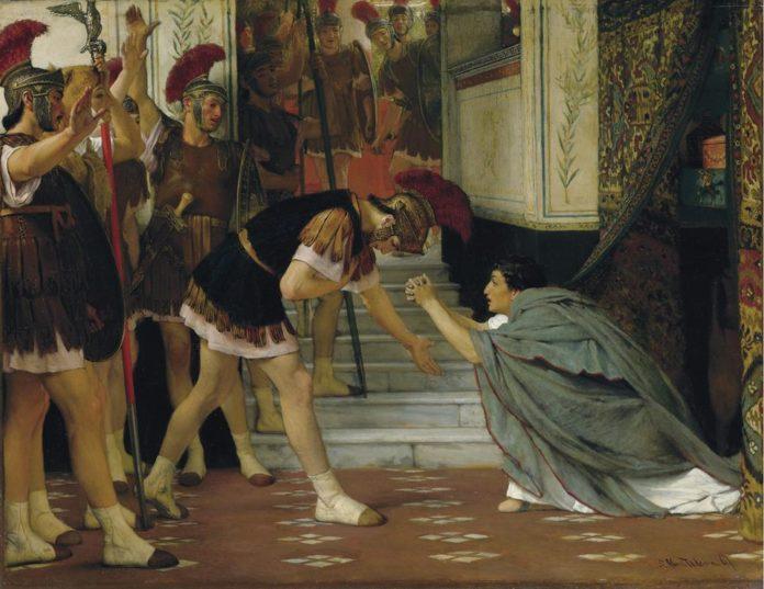 La proclamazione di Claudio a imperatore