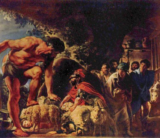 Jacob Jordaens, Ulisse e Polifemo, 1635, Mosca, Pushkin Museums
