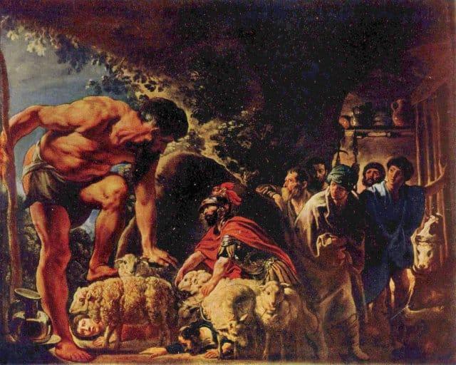 Ulisse e Polifemo riassunto
