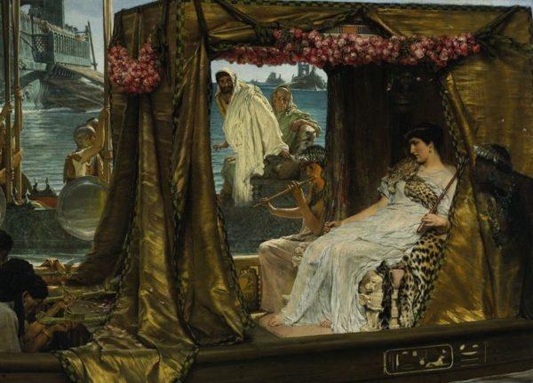 Antonio e Cleopatra (1885) di Lawrence Alma-Tadema