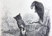 Il corvo e la volpe, favola di Esopo