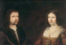 Espulsione degli ebrei dalla Spagna - Ritratto del re Ferdinando II d'Aragona e della regina Isabella di Castiglia