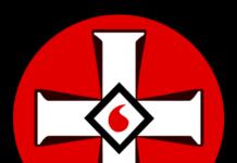 La croce bianca, uno dei simboli del Ku Klux Klan.