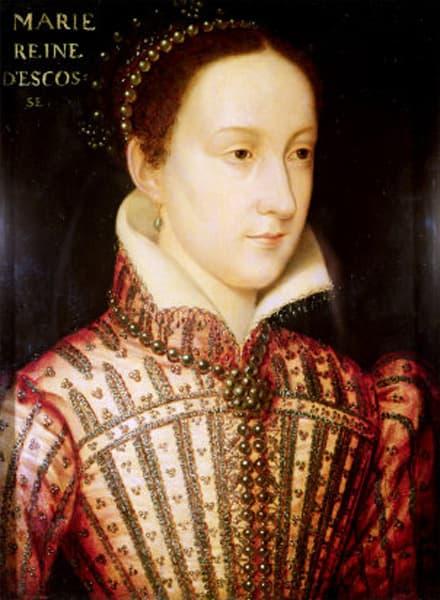 Maria Stuart, regina di Scozia.