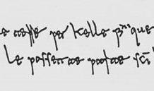 La formula di giuramento in volgare campano contenuta nel Placito capuano.