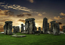 Cromlech di Stonehenge (Wiltshire, Inghilterra)
