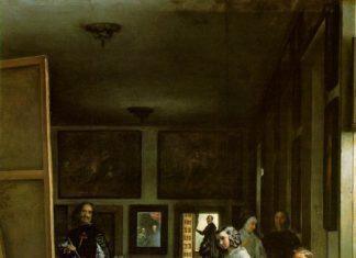 Diego Velázquez, Las meninas, 1656, olio su tela, 318x276 cm. Madrid, Museo del Prado