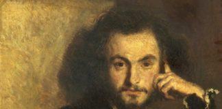 Ritratto di Charles Baudelaire, eseguito nel 1844 dal suo amico e pittore Emile Deroy
