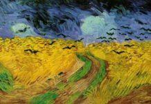 Vincent van Gogh, Campo di grano con corvi