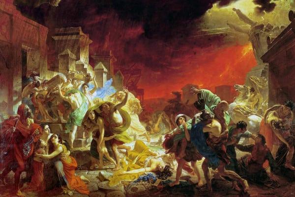 L'ultimo giorno di Pompei, dipinto di Karl Pavlovic Brjullov, del 1830-1833.