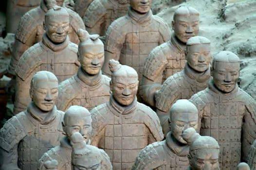 esercito di terracotta, 220-210 a.C.