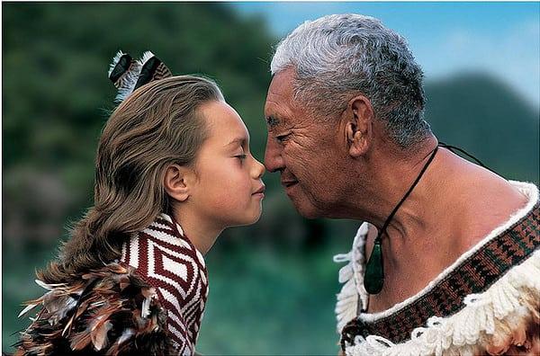 Saluto maori.