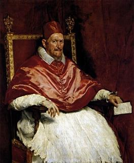 Innocenzo X di Diego Velázquez