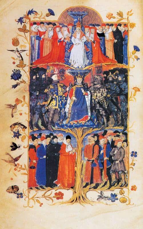 la società medievale