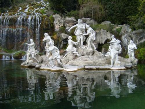 Fontana di Diana e Atteone, particolare, Reggia di Caserta.
