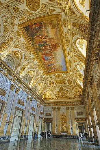 Sala del Trono, Reggia di Caserta.