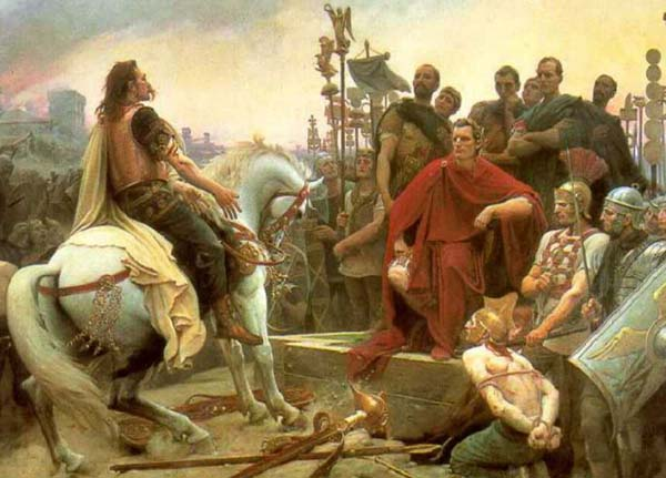 La battaglia di Alesia: Cesare contro Vercingetorige