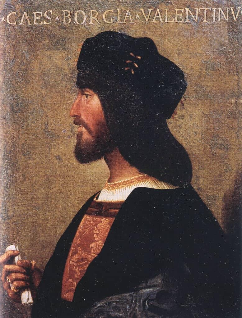 Risultati immagini per Cesare Borgia