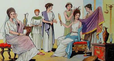 La cosmesi nell'antica Roma.