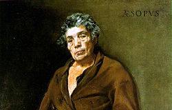 esopo, dipinto di Diego Velazquez