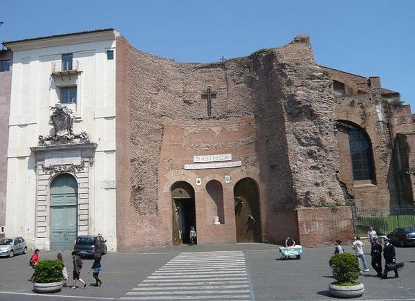 Basilica di Santa Maria degli Angeli e dei Martiri, Roma.