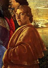 Sandro Botticelli autoritratto in