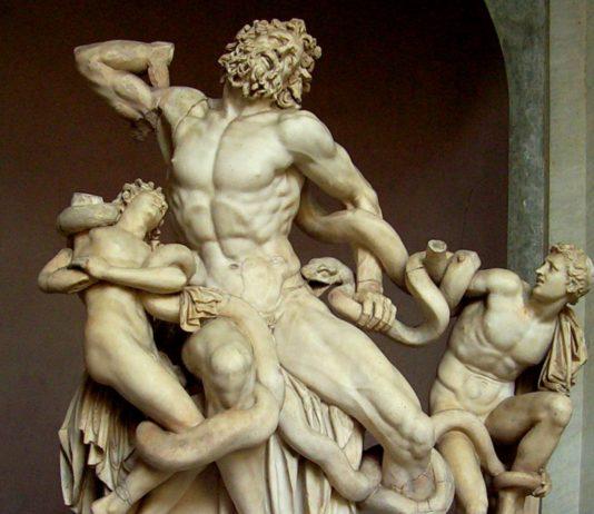 gruppo scultoreo laocoonte