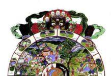 Siddharta Gautama, il Buddha. La ruota tibetana della vita e della morte.