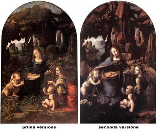 La Vergine delle rocce di Leonardo da Vinci: analisi delle due versioni