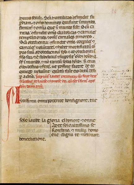 Il Cantico delle creature di San Francesco: testo, parafrasi, analisi, commento