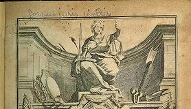 Corpus Iuris Civilis, frontespizio di una edizione settecentesca
