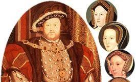 Enrico VIII e le sue sei mogli