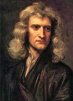 Isaac Newton, ritratto di sir Godfrey Kneller (1689)