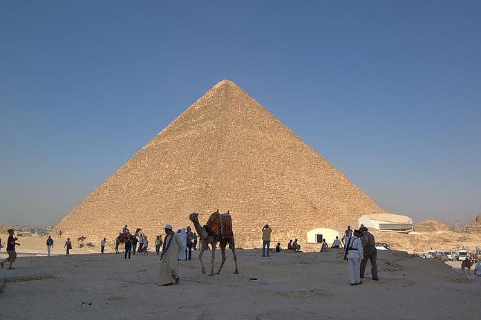 La piramide di Cheope, descrizione