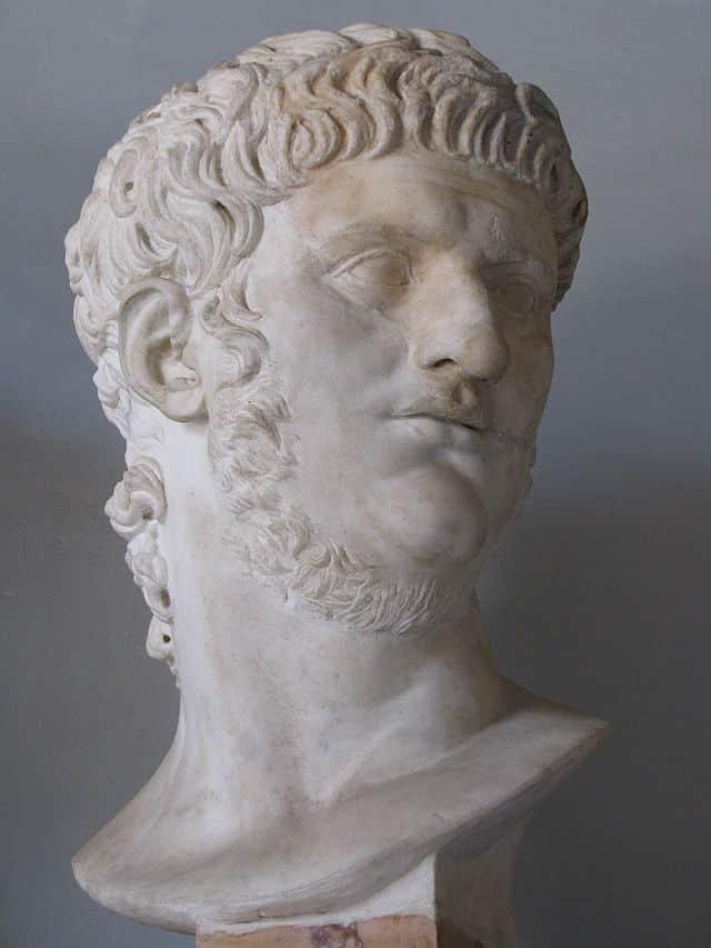 Busto di Nerone, Museo Capitolino, Roma